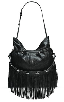 Frye Sacha Fringe Small Leather Hobo