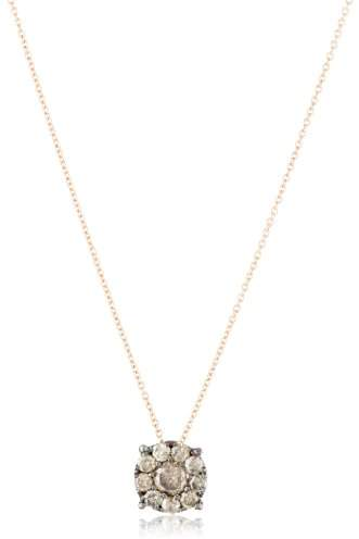 Suzanne Kalan Kalan by Champagne Diamond Cluster Necklace