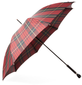 Alexander McQueen Check Walking Umbrella