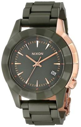 Nixon Women's 'Monarch' Green Stainless Steel Watch