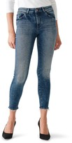 DL1961 Florence Mid Rise Ankle Crop Skinny Jeans