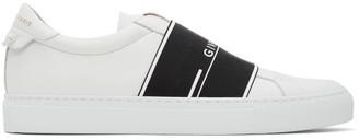 Givenchy White Urban Street Elastic Sneakers