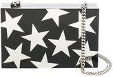 Stella McCartney Stars print box clutch