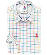 Thomas Pink Fenby Check Classic Fit Button Cuff Shirt