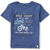 Lucky Brand Little Boys 4-7 Long Way Short-Sleeve Graphic Tee