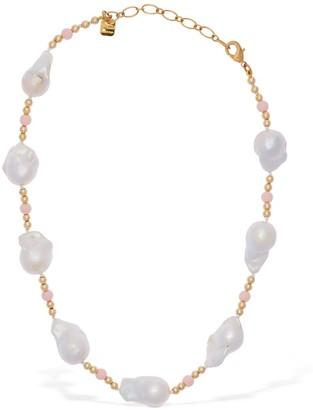 Ca&Lou Domitilla Baroque Pearl Short Necklace