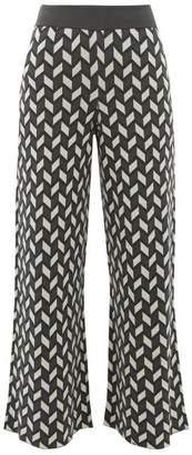 Max Mara Ancora Trousers - Womens - Green Multi