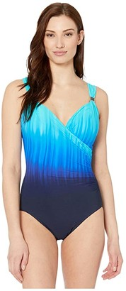 Miraclesuit Belle Trois Siren One-Piece (Twilight Blue) Women's Swimsuits One Piece