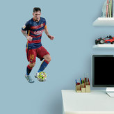 Fathead FC Barcelona Lionel Messi Wall Decal by