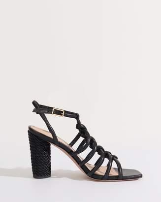 Veronica Beard Bala Jute-Heel Sandal