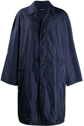 Balenciaga Oversized Fit Car Coat