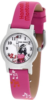 Time Force Boys Analogue Quartz Watch with Leather Strap HM1000