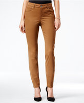 Style&Co. Style & Co Petite Faux-Suede Skinny Jeans, Only at Macy's