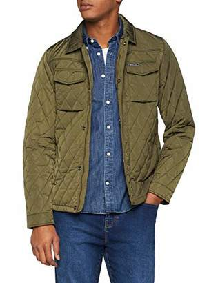 Scotch & Soda Men's Classic Quilted Jacket,Large