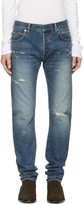 Balmain Blue Twist Vintage Jeans