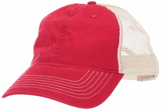 AquaGuard UltraClubs Men's ULTC-8114-Cut Washed Brushed Cotton Twill Trucker Cap