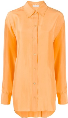 Nina Ricci loose-fit silk shirt