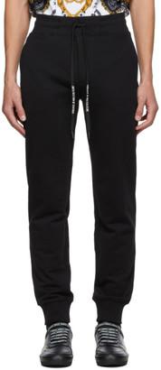 Versace Jeans Couture Black Warranty Tag Lounge Pants
