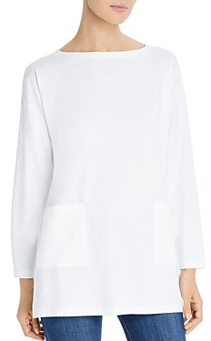 Eileen Fisher Pocket Tunic Top