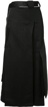 CHRISTOPHER ESBER Tailored Vent Skirt