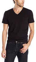 Splendid Mills Men's Classic Short Sleeve V-Neck T-Shirt