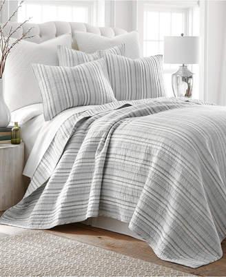 Levtex Home Bondi Stripe Gray Twin Quilt Set