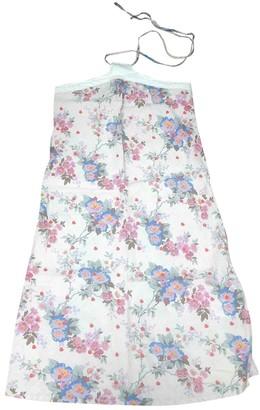 Replay Beige Linen Dress for Women