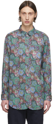 Engineered Garments Multicolor Floral Print Shirt
