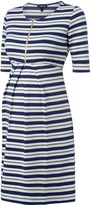 Isabella Oliver Beaumont Striped Maternity Dress