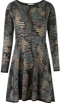 Cecilia Prado round neck knitted dress