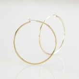 Ralph Lauren Large Gold Hoop Earring