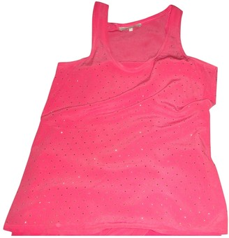 Maje Pink Glitter Top for Women