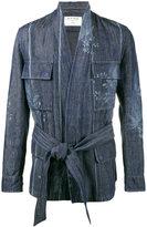 Etro floral print kimono jacket - men - Cotton/Linen/Flax/Polyester/Polyamide - M