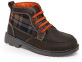 Florsheim Kids Boys) Brown Valco Moc Jr. Boots
