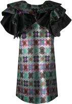Thumbnail for your product : La DoubleJ Flame ruffled mini dress