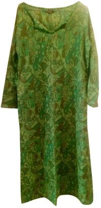 Maliparmi Green Cotton Dresses