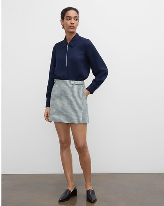Club Monaco Mini Tweed Skirt
