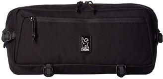 Chrome Kadet Nylon (Black/Aluminium) Handbags