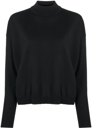 Pierantonio Gaspari Stand-Up Collar Jumper