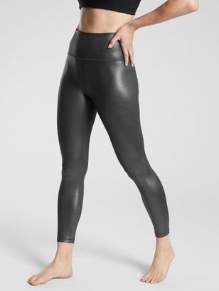 Athleta Elation Ultra High Rise Shimmer Tight In Powervita