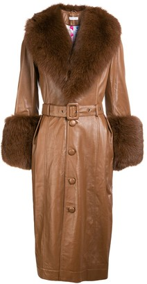 Saks Potts Foxy leather coat
