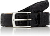 Barneys New York MEN'S ALLIGATOR BELT
