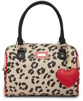 Betsey Johnson Printed Satchel