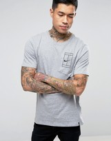 Nike Nk Court T-shirt In Grey 836064-063