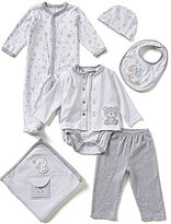 Starting Out Baby Boys Newborn-6 Months Bear 7-Piece Layette Set