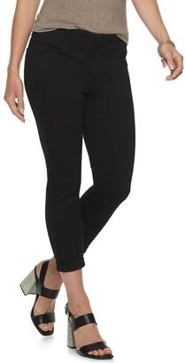 Apt. 9 Petite Tummy Control Denim Ankle Jeans