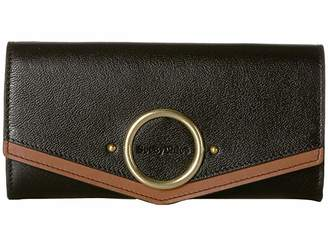See by Chloe Aura Large Leather Wallet