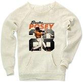 500 Level Buster Posey Retro K San Francisco Women's Maniac Sweatshirt M