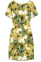 Jason Wu Leaf Print Dress