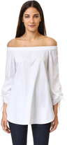 Tibi Off Shoulder Tunic